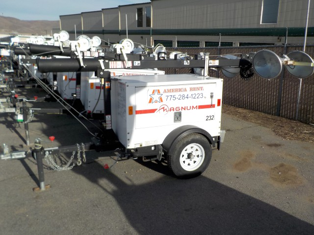 Where to rent LIGHT TOWER TOWABLE - 10kw GENERATOR in Carson City NV, Lake Tahoe, Sparks NV, Reno, Virginia City NV, Cold Springs NV, Minden