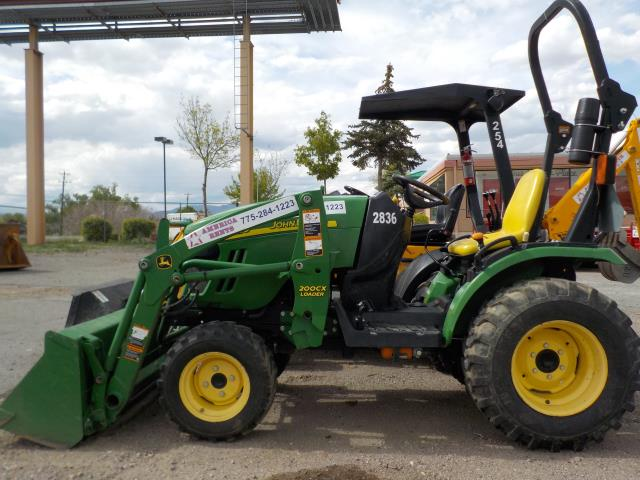 Where to rent COMPACT TRACTOR - 25 HP in Carson City NV, Lake Tahoe, Sparks NV, Reno, Virginia City NV, Cold Springs NV, Minden